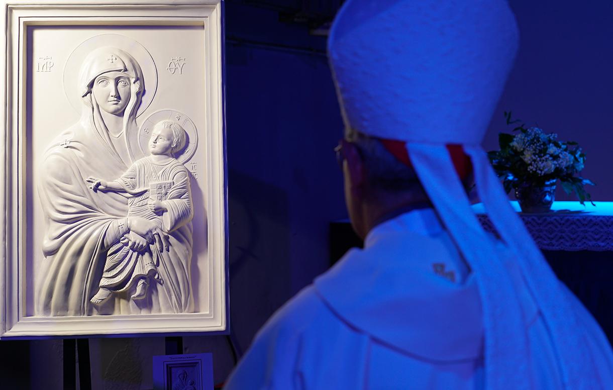 La Scuola dell'Arte della Medaglia celebra l'8 dicembre con un'opera ispirata all'icona di Santa Maria Maggiore