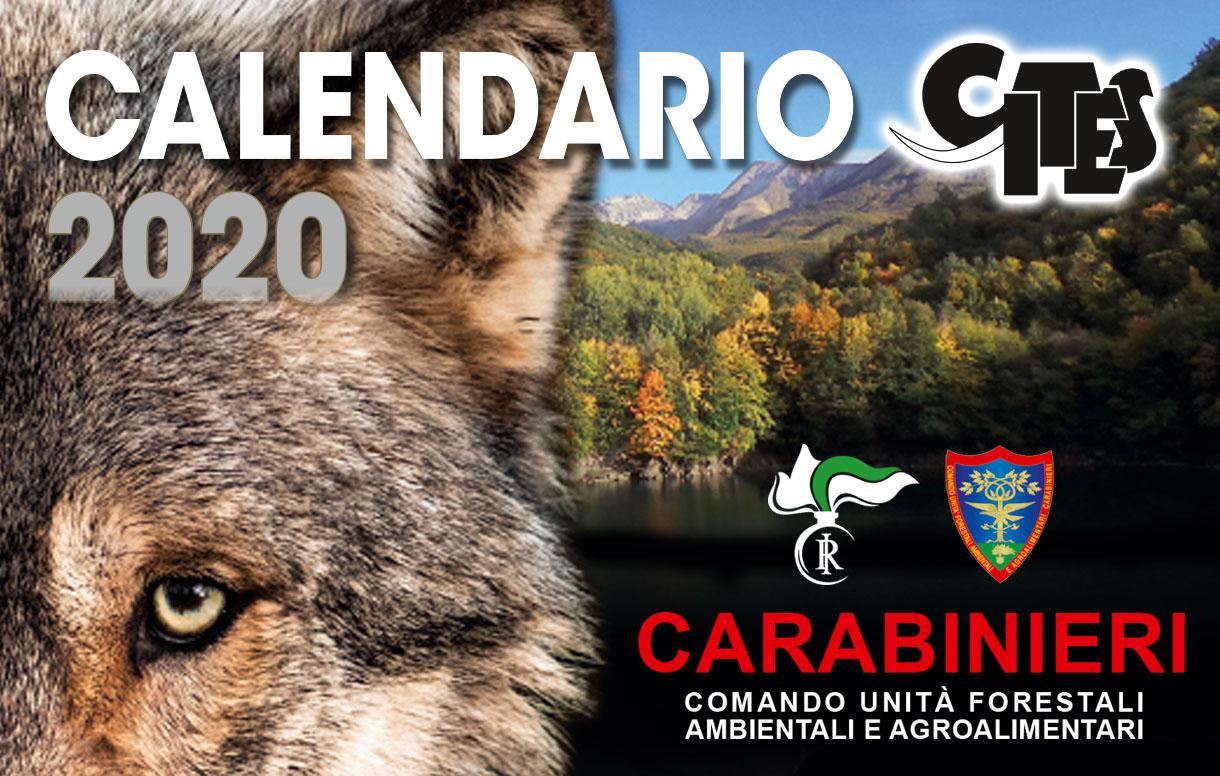 Calendario CITES 2020, insieme ai Carabinieri per la tutela delle specie italiane e dei loro habitat protetti