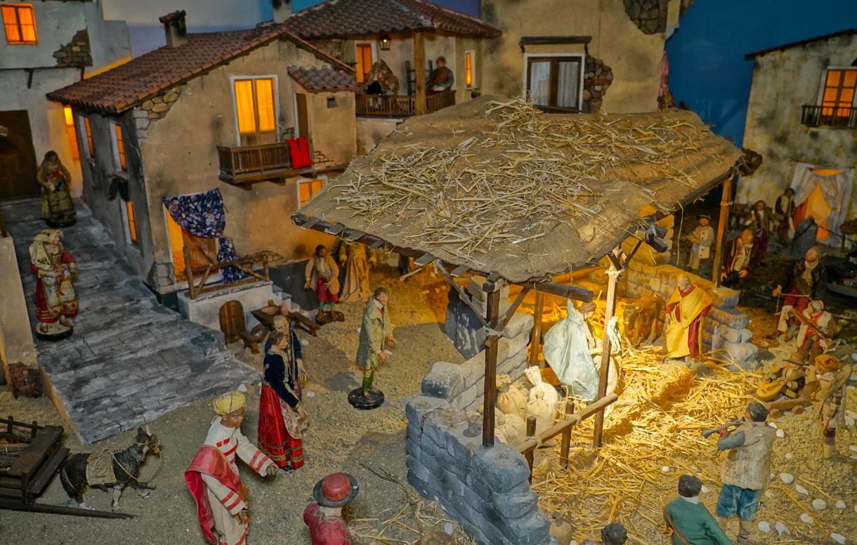 Natale 2019: il tradizionale Presepe del '700 napoletano arricchisce la collezione del Museo della Zecca