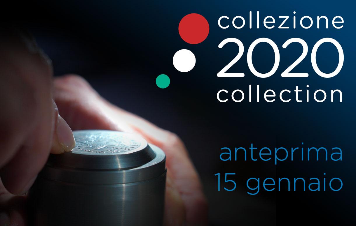 Mercoledì 15 gennaio la presentazione in anteprima della Collezione Numismatica 2020