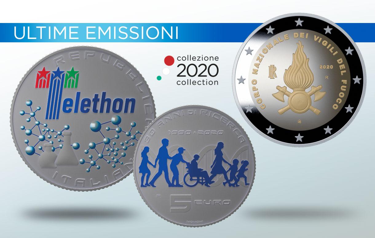 La ricerca scientifica e la solidarietà protagoniste delle due nuove emissioni della Collezione Numismatica 2020
