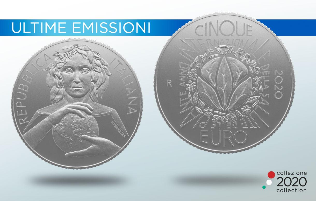 Collezione Numismatica 2020: la nuova moneta per l'Anno Internazionale della Salute delle Piante