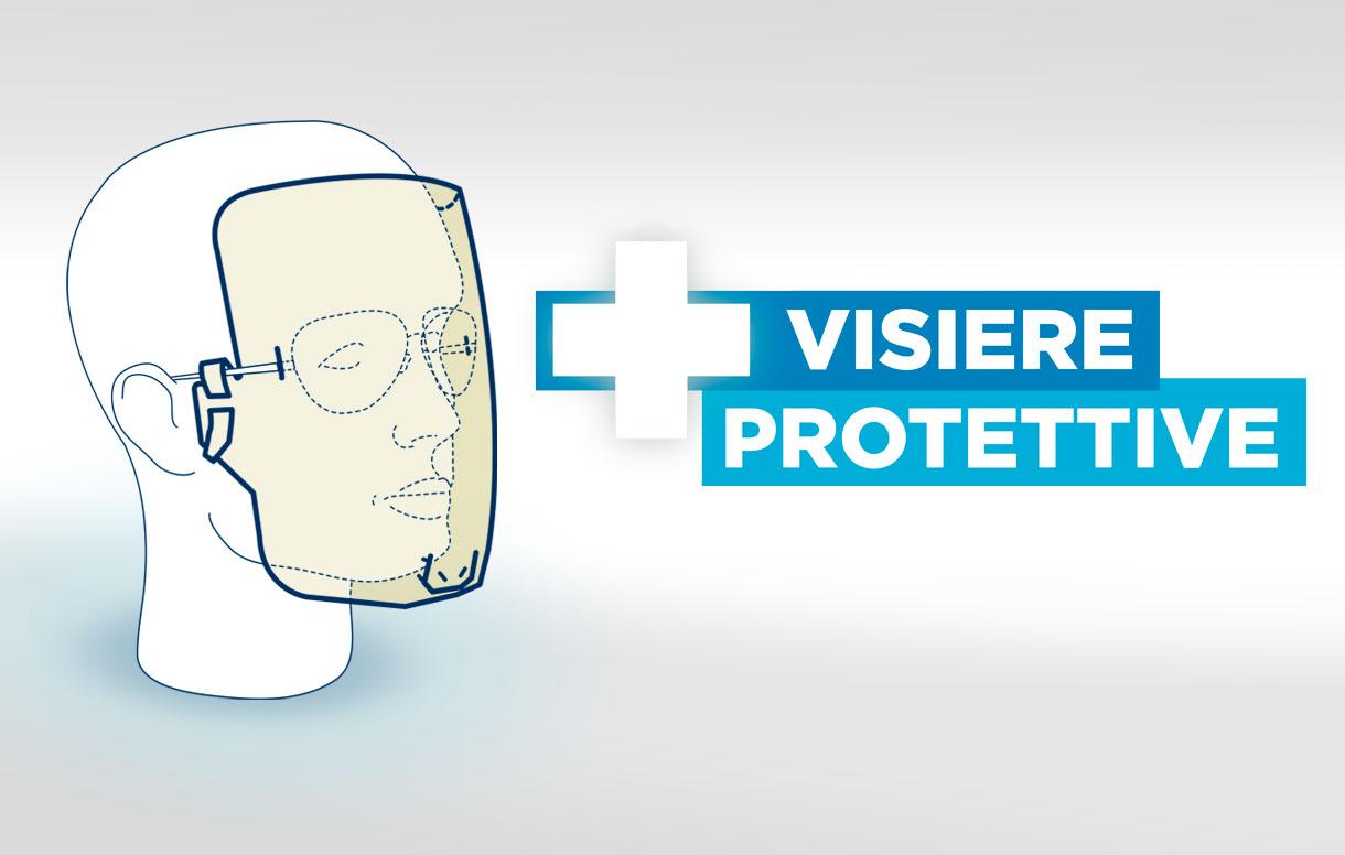 Visiere protettive sanitarie