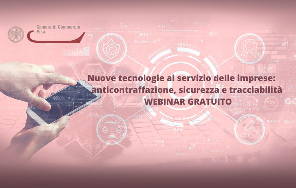 Tecnologie anticontraffazione: un webinar sulle nostre soluzioni per la sicurezza e la tracciabilità