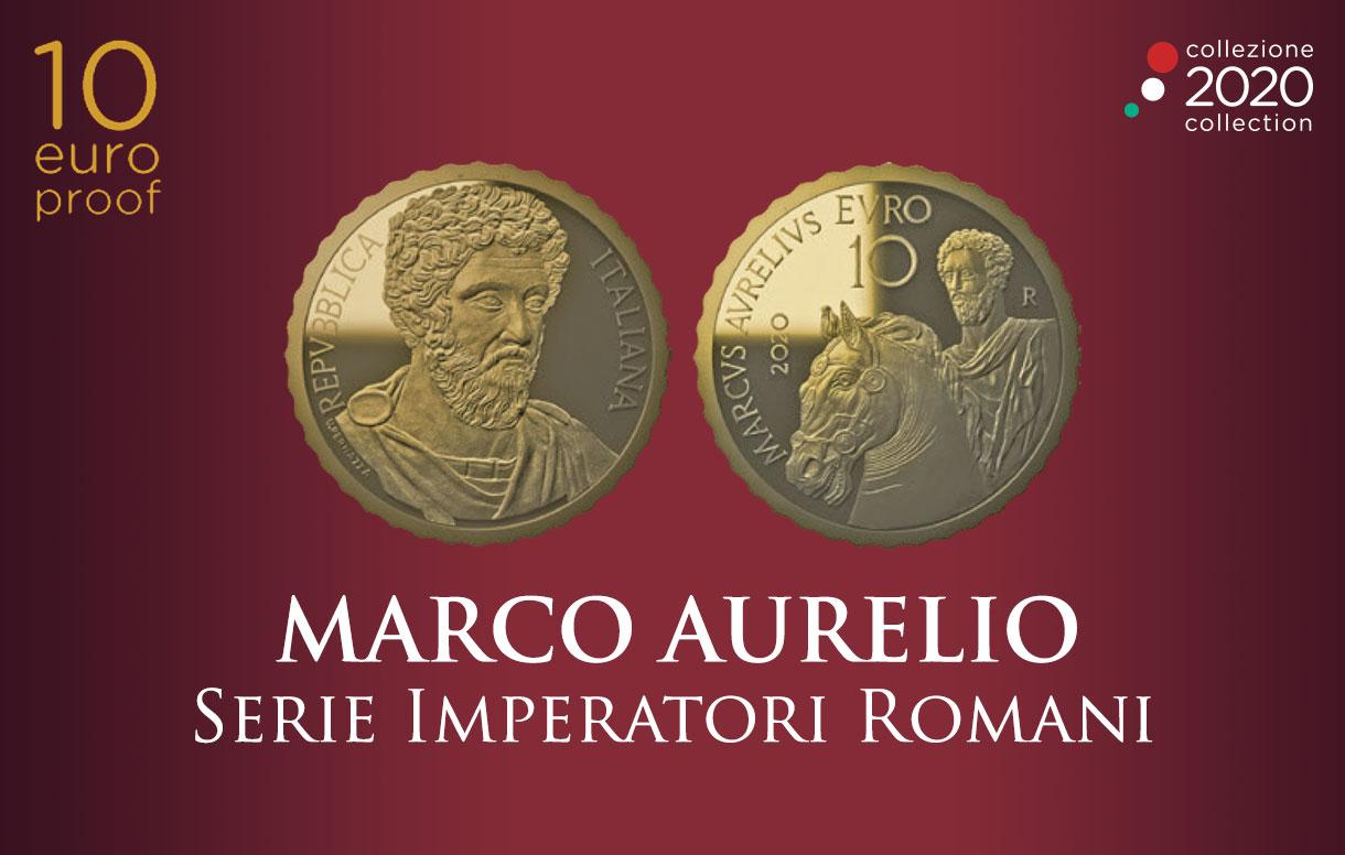 Numismatica: la nuova emissione in oro che celebra Marco Aurelio, illustre esponente degli Antonini