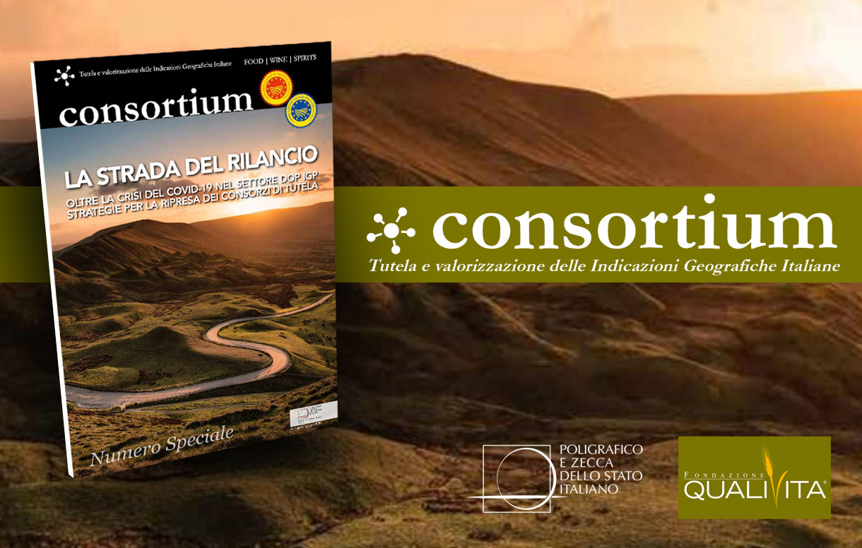 Nell'ultimo numero di Consortium: TrustIT tutela e valorizzazione del food di qualità