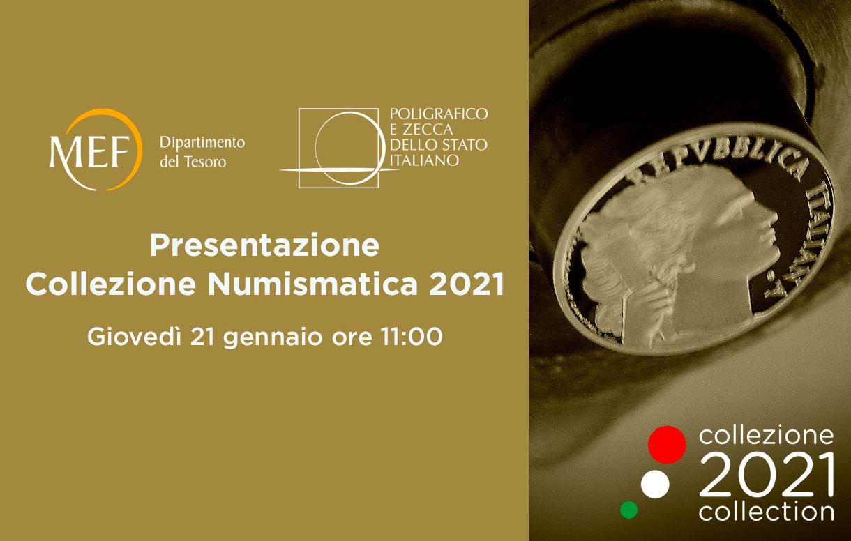 Appuntamenti: Presentazione della Collezione Numismatica 2021