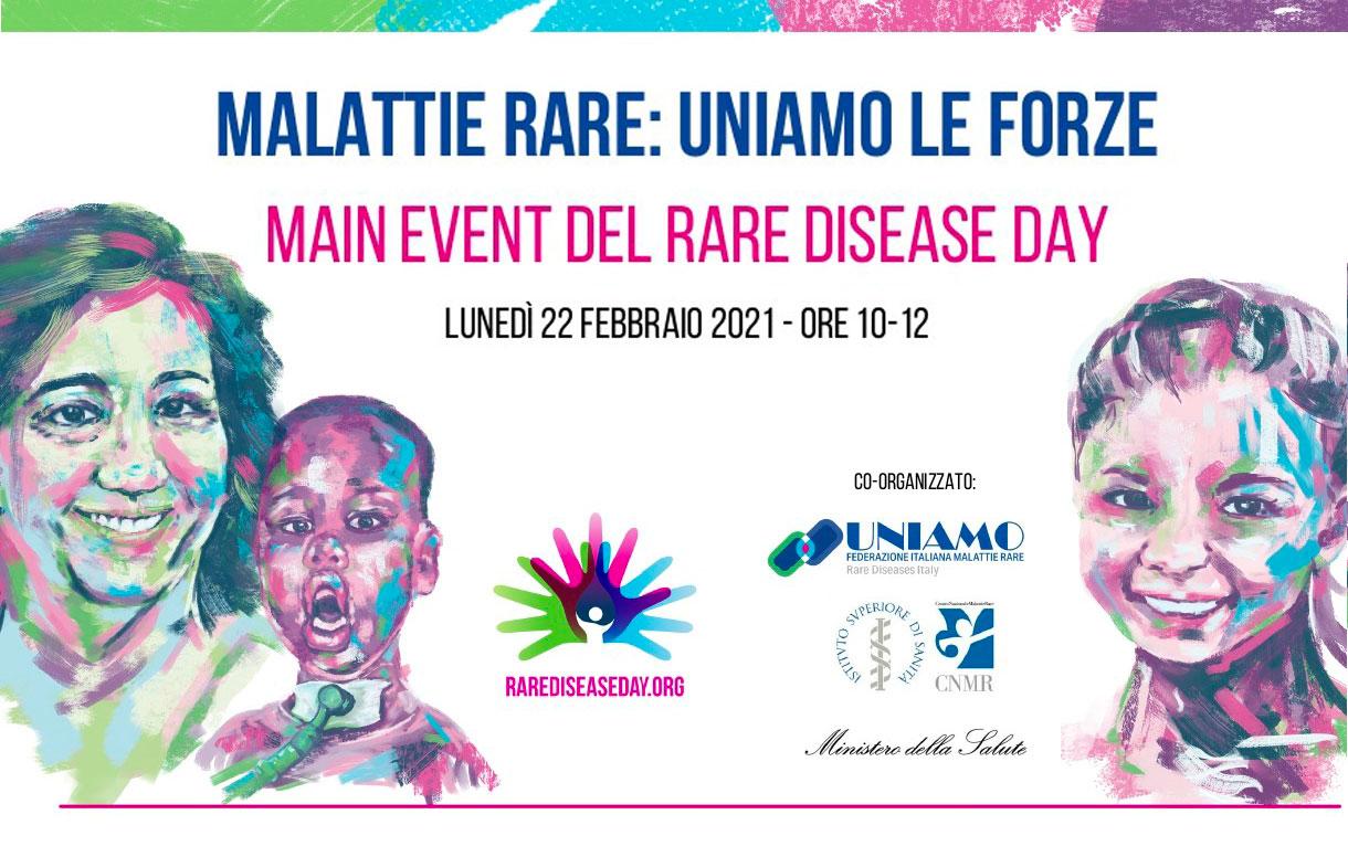 """In occasione del """"Rare Disease Day"""" un webinar con il Ministero della Salute e l'Istituto Superiore di Sanità"""