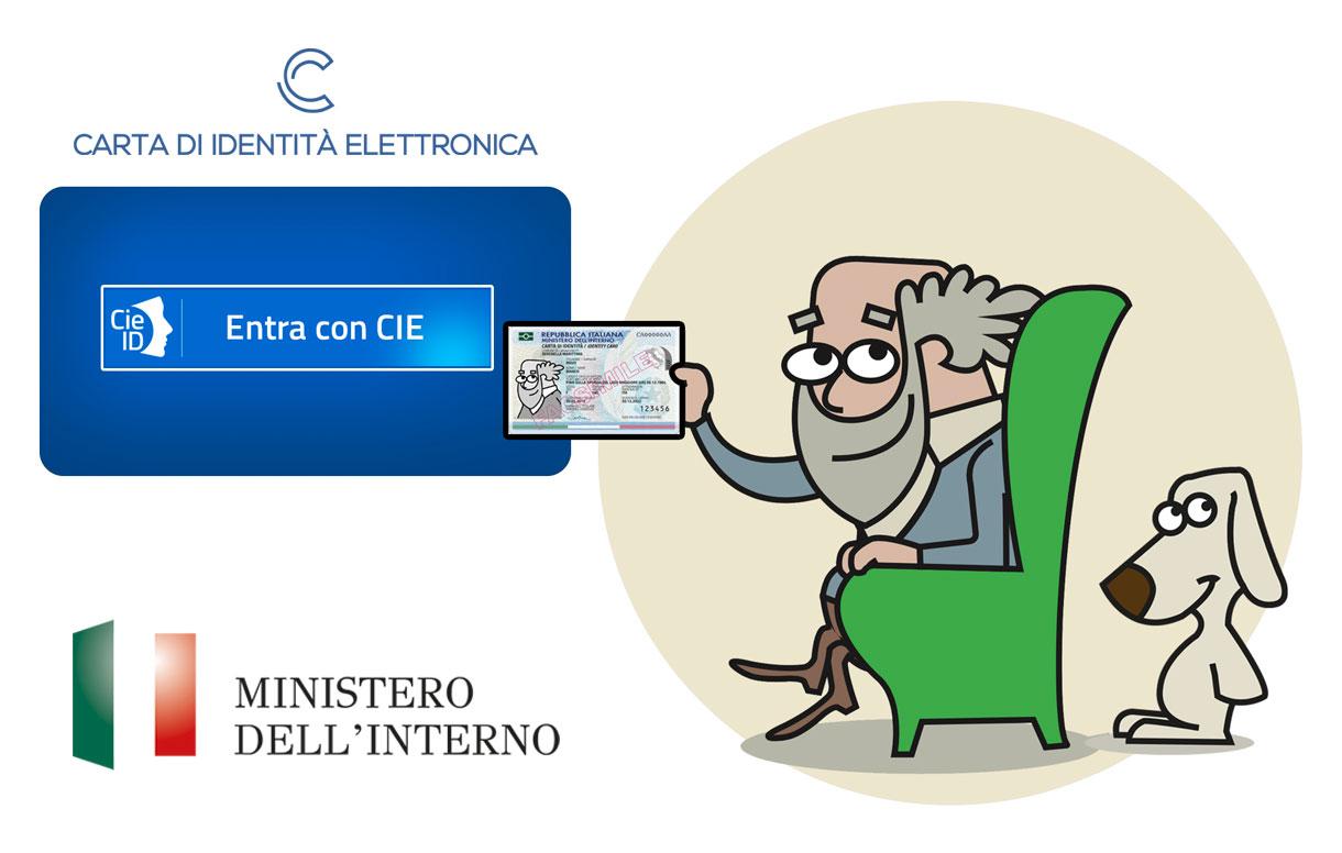 Da oggi i servizi digitali della Pa accessibili tramite la carta d'identità elettronica