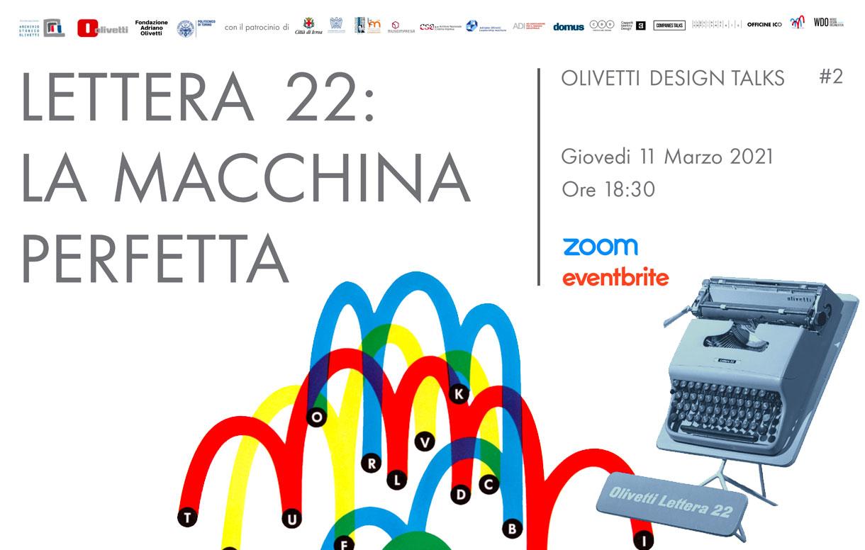 """""""Olivetti Design Talks"""": un ciclo di eventi online dedicati alla storia dell'azienda leader dello stile italiano nel mondo"""