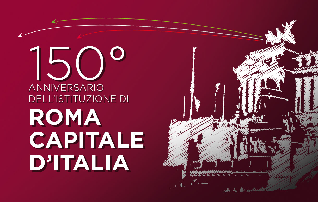 """Eventi, web conference """"160 anni di Unità d'Italia, 150 anni di Roma Capitale"""""""