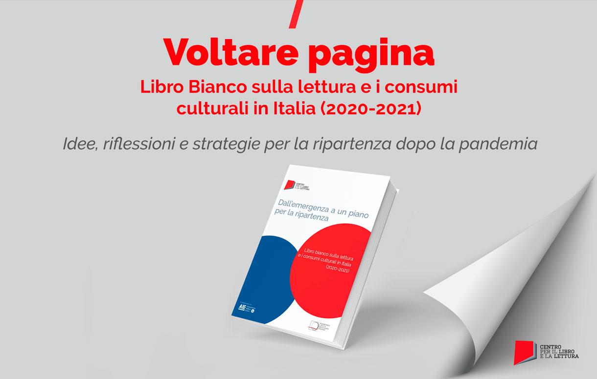 Presentazione del Libro bianco sulla lettura e i consumi culturali in Italia (2020-2021)