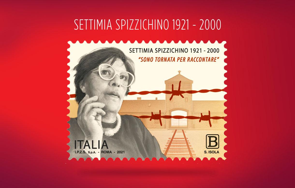 Cerimonia di emissione ed annullo del francobollo in ricordo di Settimia Spizzichino