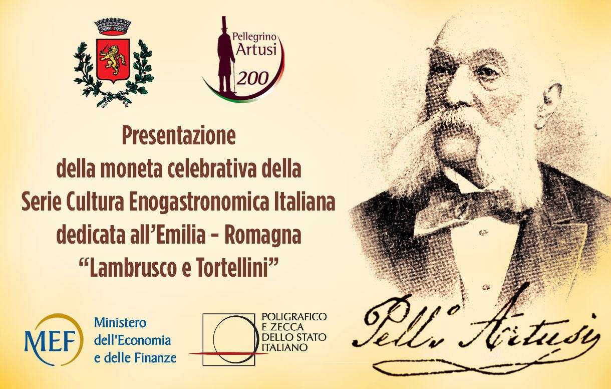 Eventi, a Forlimpopoli la presentazione della moneta della Zecca italiana che celebra la cultura enogastronomica dell'Emilia Romagna