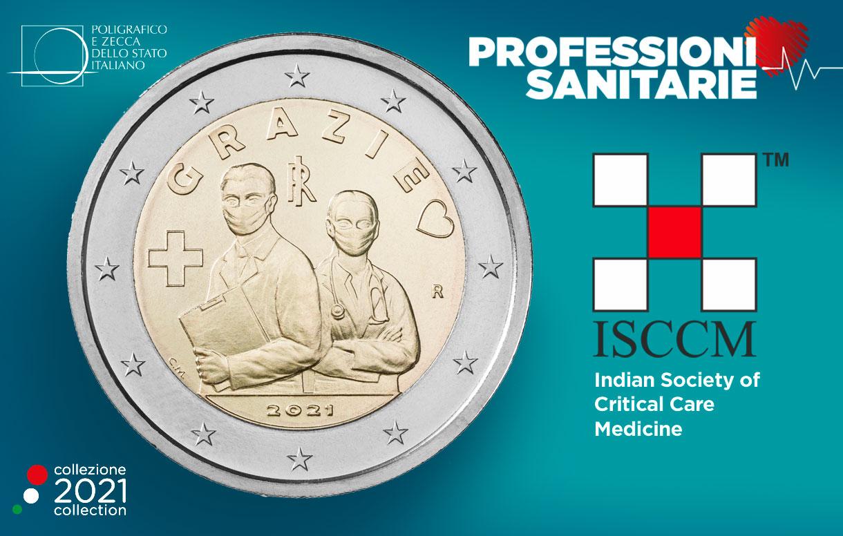 Un articolo della Indian Society of Critical Care Medicine ricorda la 2 euro per le professioni sanitarie